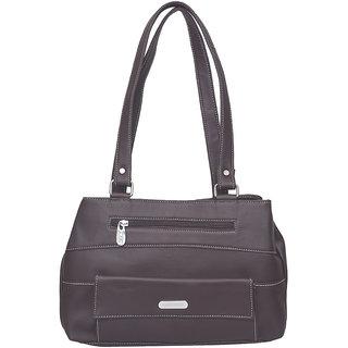 JH handbag Purple Plain Casual  Handbag
