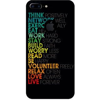 GripIt Think Network Printed Case for Apple iPhone 7 Plus