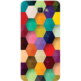 GripIt 3D Hexagon Printed Case for Samsung Galaxy J7 Prime