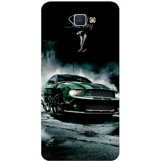 GripIt Shelby Cobra Printed Case for Samsung Galaxy J7 Prime