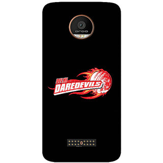 GripIt Delhi Dare Devils (BLACK) Case for Motorola Moto Z