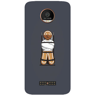 GripIt Gingerbread Hannibal Printed Case for Motorola Moto Z Play