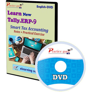 Tally ERP 9 Smart Tax Accounting Notes + Practical Exercise