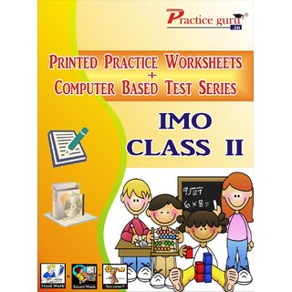 Worksheets Test Series for IMO Class 2