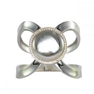 Ce'lavy Elegant Silver Finish Wrist Bracelet For Girls  Women