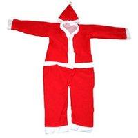 Christmas Party Wear Santa Claus Fancy Dress Costume For Kids GM