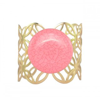 Ce'lavy Stone Age Pink Colored Bracelet For Girls  Women