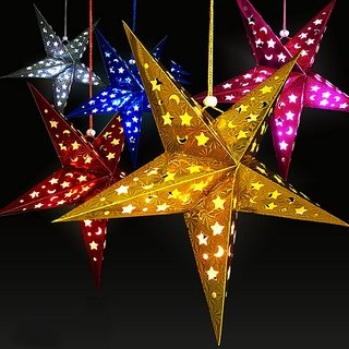 New Paper Christmas Star Manual Christmas Star Decorations For Home GM