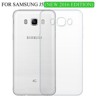 Wellelectronic Samsung Galaxy J5 (2016) Transperent Back cover