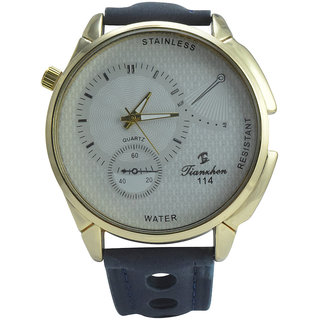 Polo House USA Analog White Dial Men's Watch
