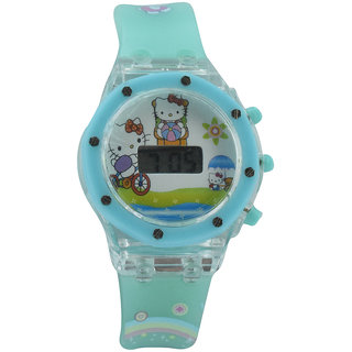Polo House USA Digital White Dial Kids Watch