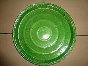 Om Sai Ram Enterprises Green paper plate