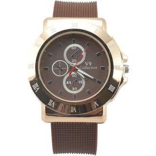 Polo House USA Analog Brown Dial Men's Watch