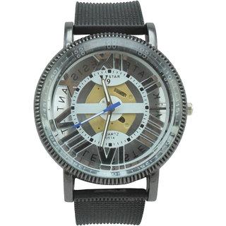 Polo House USA Analog White Dial Men's Watch