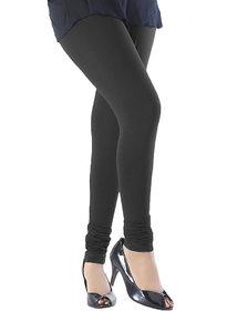 Black Cotton Lycra Legging