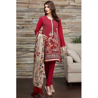 Women's Cotton Semi-Stitched Regular Wear long kurta