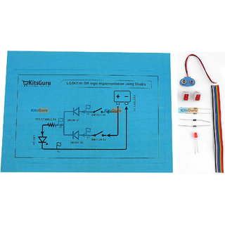 DIY Kit - OR logic implementation using Diodes  LGSK010 Science Project Idea