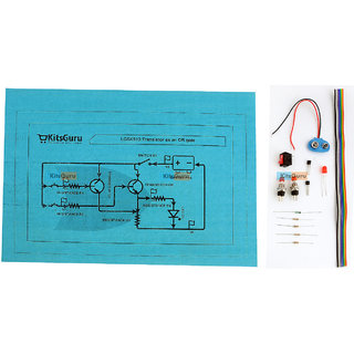 DIY Kit - Transistor as an OR gate  LGSK013 Science Project