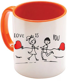 Valentine Gift for Girlfriend Love Printed I Love U Forever Perfect for Her Him Wife Fiance Anniversary And Birthday STGD118