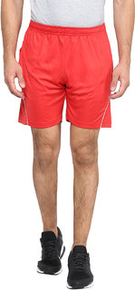 Fritzberg Men's Solid Red Shorts