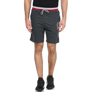 Fritzberg Men's Solid Dark Green Shorts