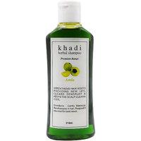 Khadi Harbal Shampoo (Amla) pack of 1, 210, ml