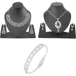Booming Desire   Rhodium plated designer  collection by Touchstone