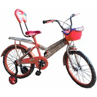 Oh Baby Baby 50.8 Cm (20) Double Seat Bicycle With SPOKE WHEEL In Red Color For Your Kids SE-BC-17