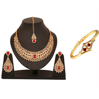 Touchstone Collection of One Necklace set & Bracelet TSCO-113-01