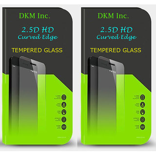 Buy 1 Get 1 Free  25D HD Curved Edge Tempered Glass for Reliance Jio LYF Wind 6
