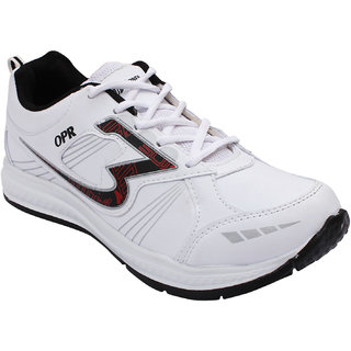 Opner Men 1063M White Black Sports Shoes