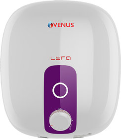 VENUS 10R 10LTR ELECTRIC WATER HEATER ( WHITE/PURPLE )
