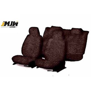 JMJW  SONS - Sweat Control Coffee Towel Car Seat Covers for Maruti Suzuki Zen (old)