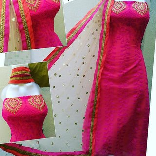 Bonsai Boutique Women's Salwar Suit Dress Material