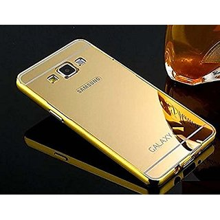 Samsung Galaxy Core Prime G360 Luxury Metal Bumper + Acrylic Mirror Back Cover Case For Samsung Galaxy Core Prime G360 B