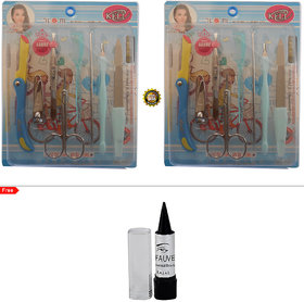 Adbeni Imported 8 In 1 Manicure and Pedicure Sets Buy 1 Get 1 Same Free Kajal