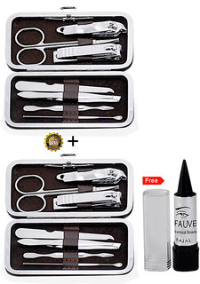 Adbeni Imported 7 In 1 Manicure and Pedicure Sets Buy 1 Get 1 Same Free Kajal
