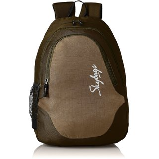 Skybags Green Polyester Casual Backpacks