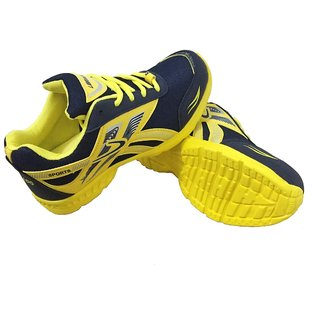 Librado Yellow Men's Sports Shoes