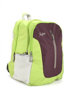 Skybags Punk Backpack(Green)