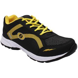 Opner Men 1051M Black Yellow Sports Shoes