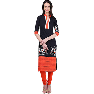 UNITED Womens Cotton Kurti Multicolour