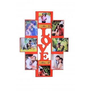 LOVE WALL FRAME WITH 8 PHOTOS