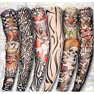 1 Pair Arm Tattoo Sleeves For Style