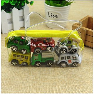 pack of mini cars set...design may vary