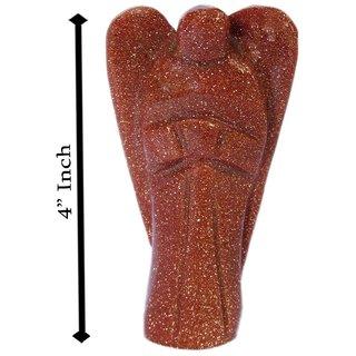 Gomati Ethnic Handicrafts Home Decorative Sun Stone Angel 4 Inch