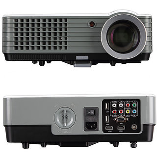 RD-801A 2000 lumens led Portable projector with HDMI / AV / VGA / USB / TV Multimedia Portable Projector