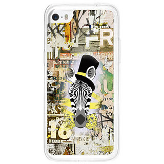 ifasho Animated Pattern of zebra Print Back Case Cover for   5C