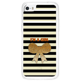 ifasho I am a girl Back Case Cover for   5C