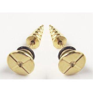New Fashion Studs 1 Pair Stainless Steel Earring Men Jewelry Boy Earrings Stud